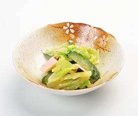 春キャベツの味噌マヨ和え