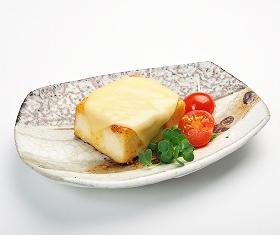 チーズ味噌豆腐ソテー