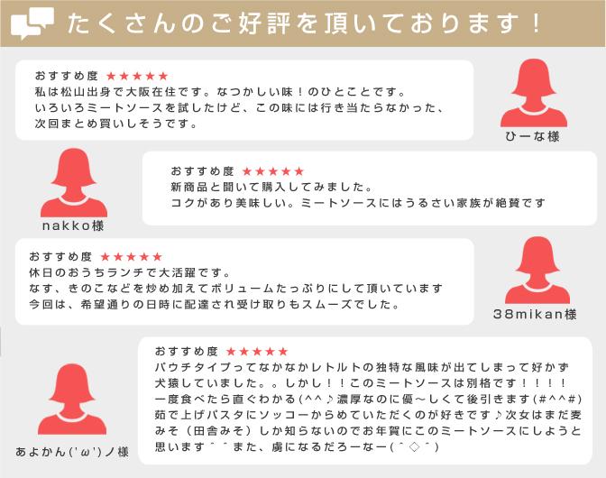 松山昭和ミートソースのレビュー